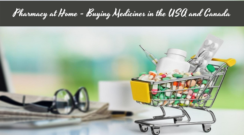 Pharmacy at Home - Buying Medicines in the USA and Canada